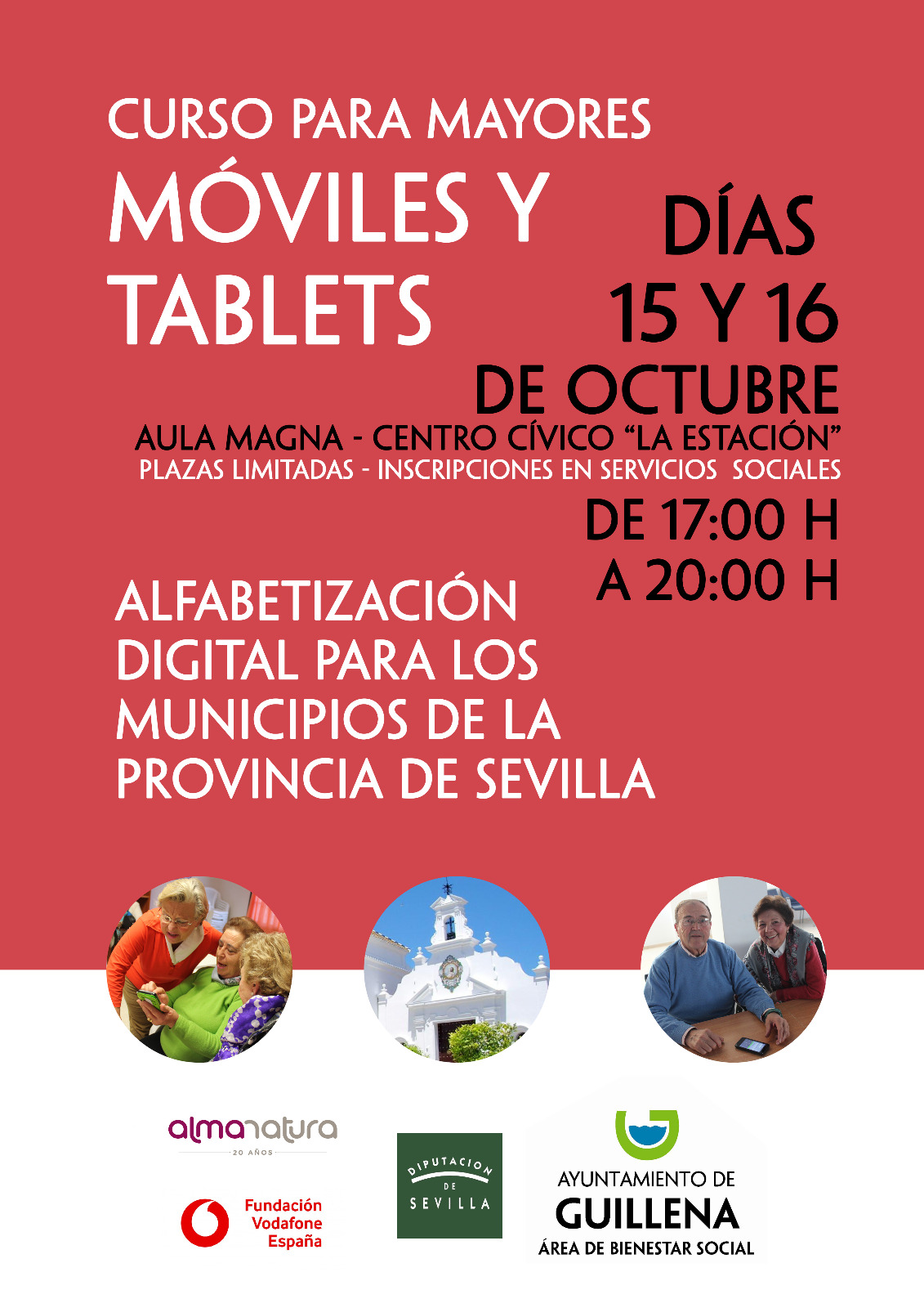 cartel cursos moviles mayores