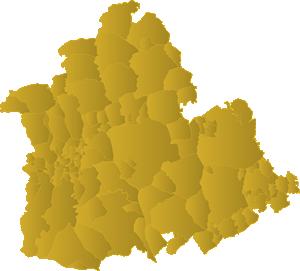 Pueblos De Sevilla Mapa.Municipios