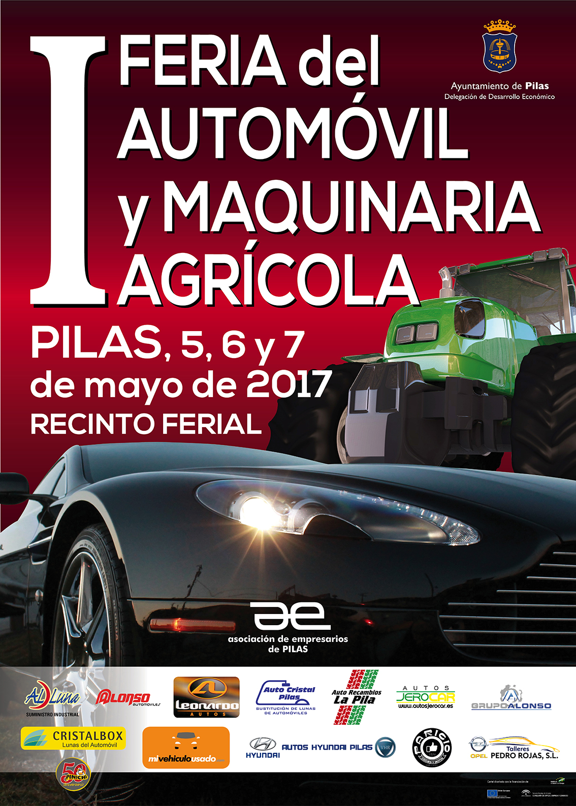 Cartel Feria Automovil