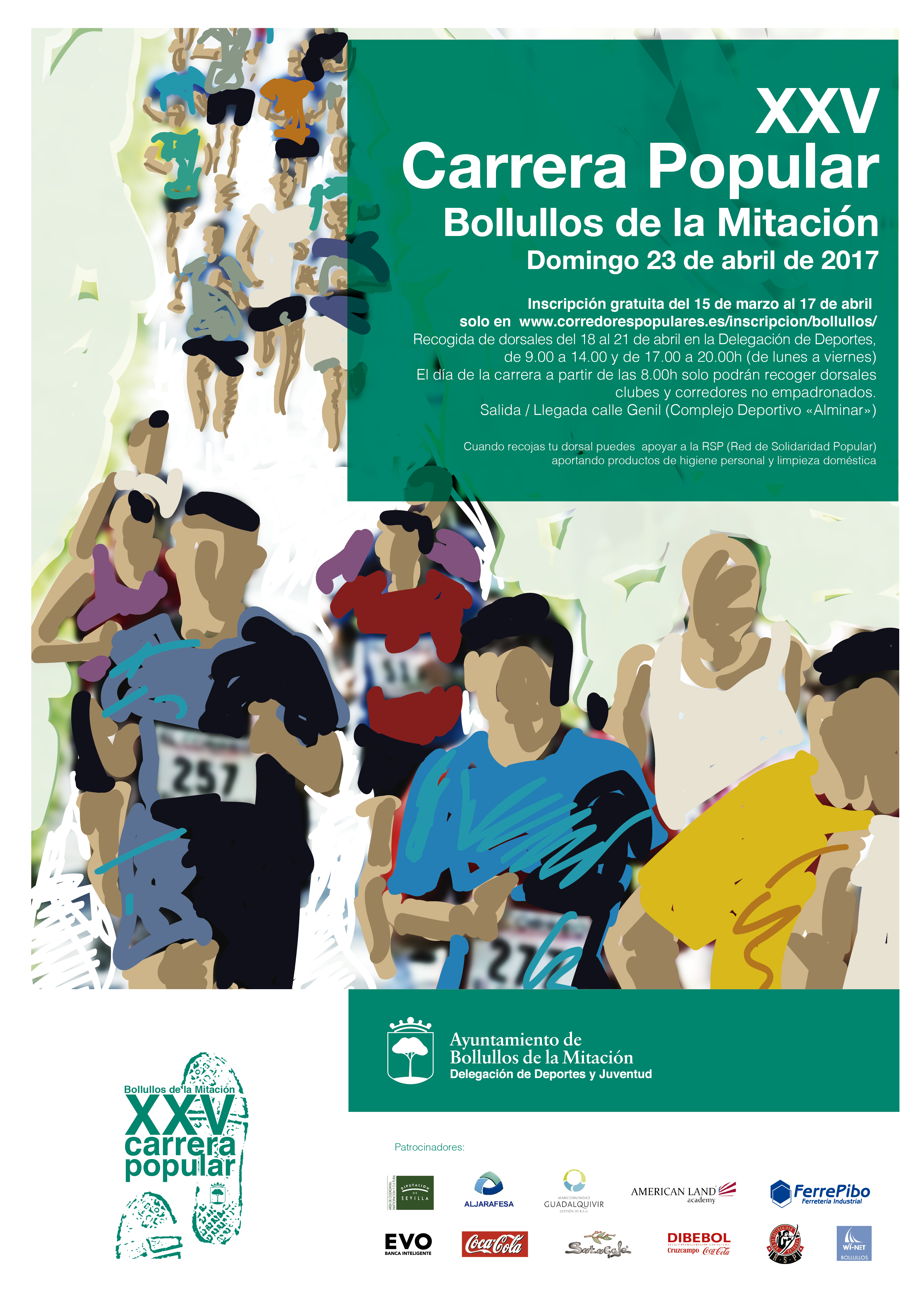 Cartel XXVª Carrera Popular 2017