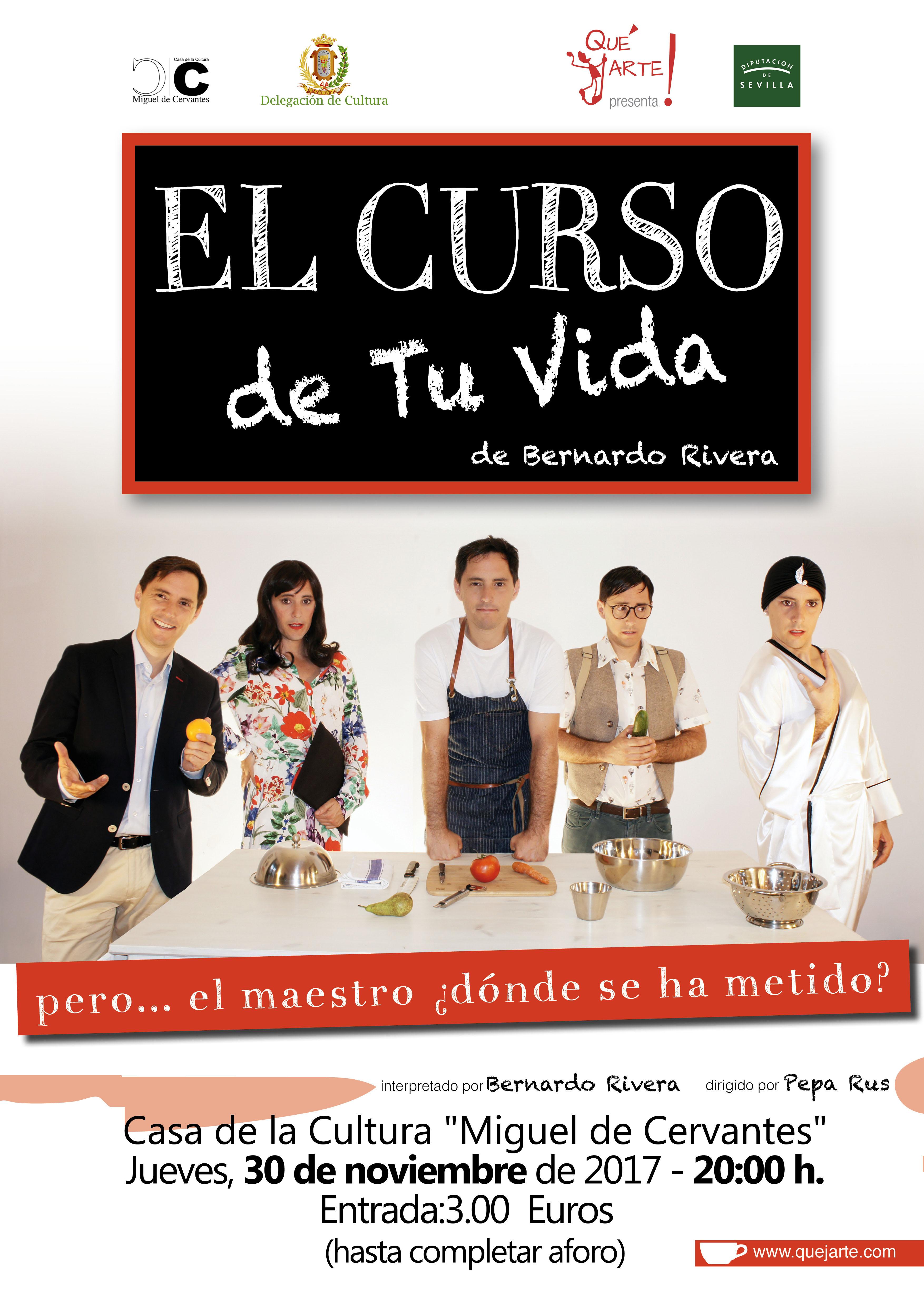 Teatro el curso de tu vida estepa for Curso de cocina pdf