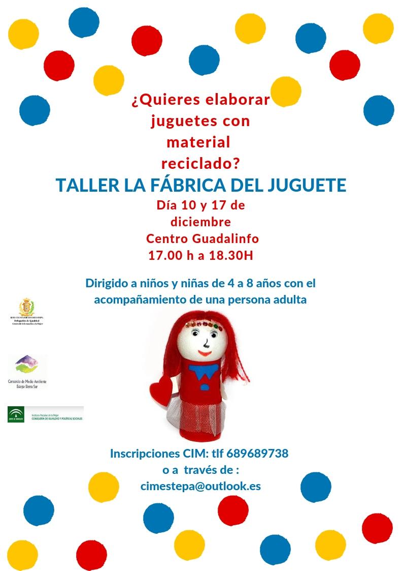 Del La Taller Fábrica Taller JugueteEstepa FclK1TJ3