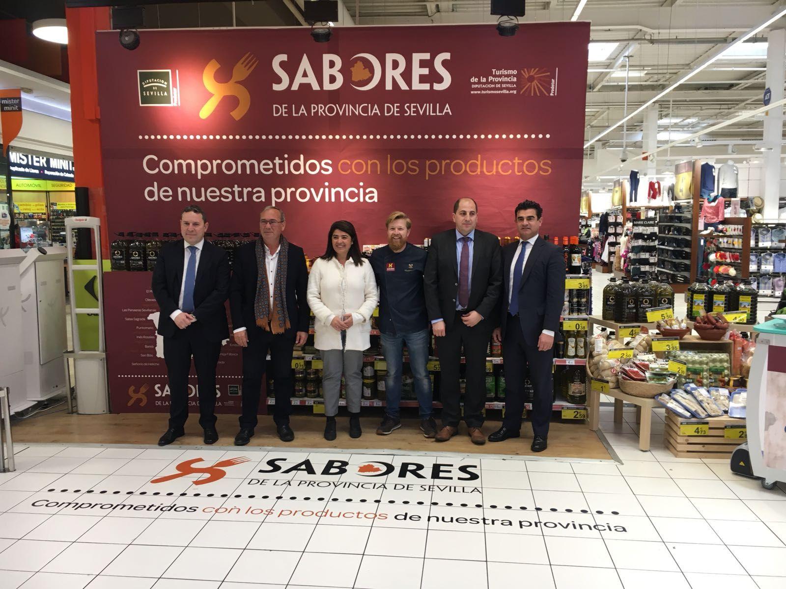 La diputaci n y carrefour impulsan la marca sabores de la for Empresas de reformas en sevilla y provincia